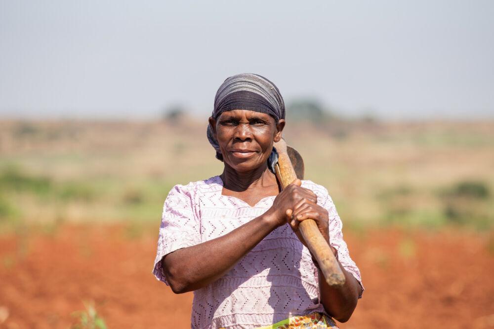 Jamia Salimo, farmer in Mozambique
